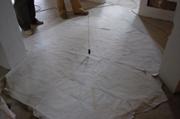 Montaggio della stufa in maiolica 1