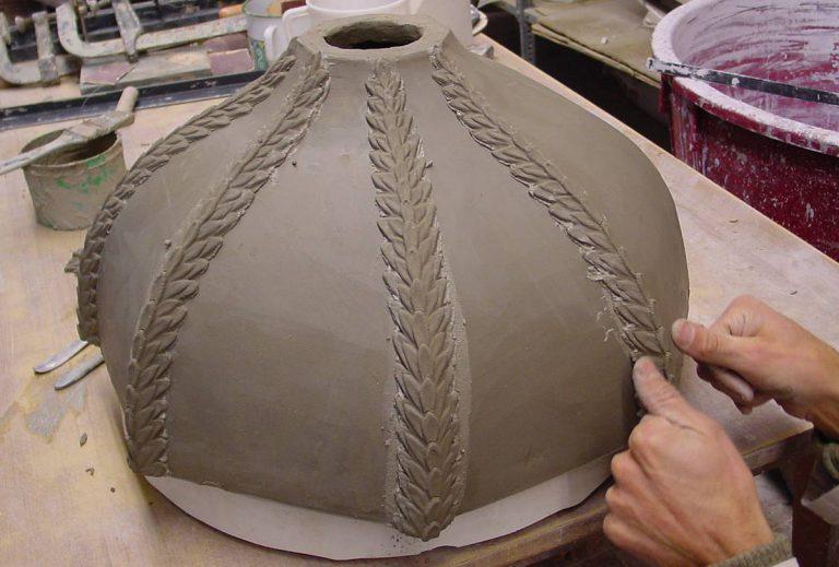 Maioliche Cupole e pigne 006